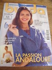 MAGAZINE BURDA LA PASSION ANDALOUSE SPECIAL MARIAGE   N°40 2003