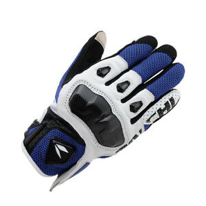 RS Taichi RST411 Mens Perforated leather Motorcycle Mesh Gloves Four COLOR