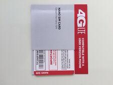 --->  TRACFONE NANO SIM CARD GET UNLIMITED VERIZON WIRELESS NETWORK