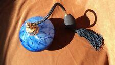 Art Glass Imports 8011 Blue Perfume Atomizer W/Tassel