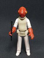 Star Wars Figure Vintage Admiral Ackbar Complete 1982 COO LFL Taiwan