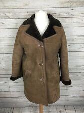 Women's Sheepskin Coat - U12 - Brown - Great Condition