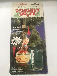 New Enchanted Workshop Christmas Ornament Mover Up & Down