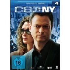 "CSI NY ""SEASON 4"" 6 DVD SET TV SERIE NEU"