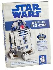 "STAR WARS ~ BUILD R2-D2 ~ 12"" HIGH ~ LED LIGHTS ~ 3 AUDIO TRACKS ~ ILLUS BOOK"