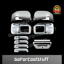 15-16 FORD F150 Fog Light Top Mirrors 4 Door Handles 1 Tailgate Chrome Cover