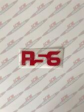 BMW Mini 2nd generación R56 model designation Rojo Pegatina de vinilo por JCW Aventuras