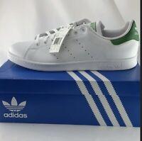 Adidas Stan Smith White & Green Mens size 14.5