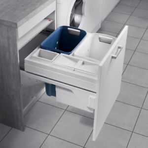 Hailo Laundry basket -Carrier 600 - Laundry Hamper with full extension