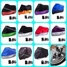 [DARK CLOUD - 190] MOTORCYCLE RAIN UV COVER / BELT LOCK /BAG MOTORBIKE MOTOR