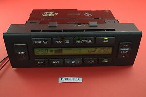 B#20 98-05 Lexus GS300 GS430 GS400 AC Heater Climate Control Unit  55900-3A210