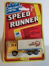 LUCKY LAM Diecast SPEED RUNNER Ice Cream Semi Vintage Diecast Toy