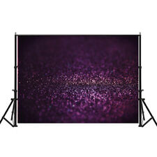 7x5ft Glitter Purple Sequins Background Photography Backdrop Vinyl Decor Shiny