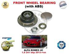 PER ALFA ROMEO 4C 1.8 241 BHP 2013- > IN POI CUSCINETTO RUOTA ANT CON ABS