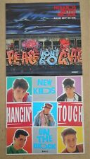 "New Kids On The Block: 2 x 7"" Please Don't Go Girl + Hangin' Tough P/S Ex 1980's"
