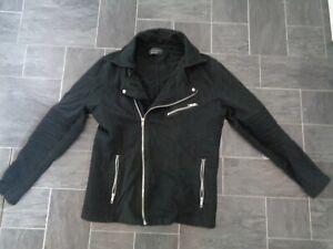 mens smart black jacket from zara-size large-autumn/winter