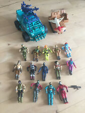 G.I. Joe - Huge vintage lot (1982-93) - 14 figures + 2 vehicles