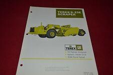 Terex S-23E Scraper Pan Dealer's Brochure DCPA6