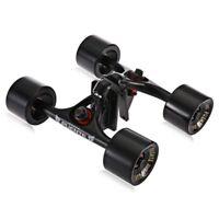 2pcs / Ensemble Skateboard Camion avec Skate Roue Riser Patin Roulement Matériel