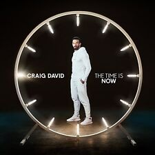 CRAIG DAVID THE TIME IS NOW DELUXE CD (New Release 2018)