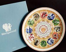 "Boxed Wedgwood Queensware Millennium (1999) ""Literature"" 10""/26cm Calendar Plate"