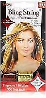 Bling String Sparkly Hair Extensions, As seen on TV, 400 applications