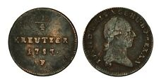 AUSTRIA Joseph II 1/4 Kreuzer 1783 F