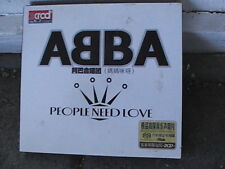 Rare import CD ABBA people need love mint cond 2 cds