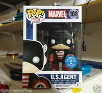 FUNKO MARVEL U.S AGENT BLACK UNDERGROUND TOYS EXCLUSIVE POP VINYL FIGURE