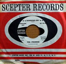 SUNSHINE POP - THE PROMISE - SUNDOWN SKY - SCEPTER 45 - WHITE LBL PROMO - 1968