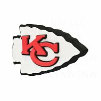 "New NFL Kansas City Chiefs 3D Fan Foam Logo Holding / Wall Sign 18.5"" x 11.7"""