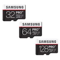 SAMSUNG 32GB 64GB 128GB Micro SD SDHC SDXC MicroSDXC Class10 4K UHD PRO PLUS IT