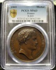 1809 France Medal PCGS MS63 B-849 Arabonaadflexvm capta