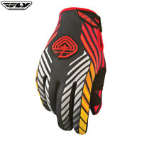 FLY 907 ADULT COLD WEATHER MX DIRT BIKE OFF ROAD MOTOCROSS GLOVES - BLACK / FIRE