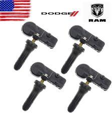 Brand New Set Of 4 2020 Dodge Ram Dt Tpms Tire Pressure Monitoring Sensors Oem