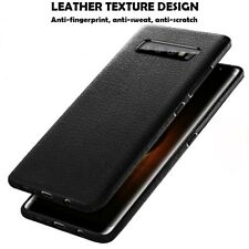 Case for Samsung Galaxy S20 S10 S9 S8 Plus Cover Leather Texture Slim Shockproof