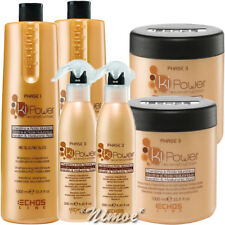 Ki Power Kit Max Echos Line ® 2 x Shampoo 1Lt + 2 x Mask 1Lt + 2 x Spray Lotion