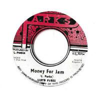 "LLOYD PARKS * MONEY FOR JAM * RARE JAMAICAN 7"" SINGLE PLAYS GREAT PARKS LABEL"
