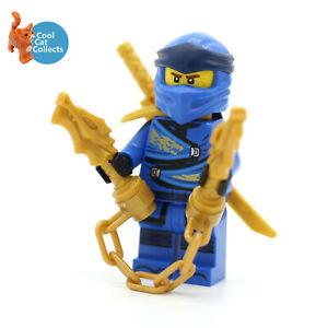 Genuine Lego Ninjago Jay Legacy Minifigure njo615 with Accessory from 71705