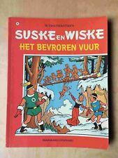 Suske en Wiske 141, Het bevroren vuur , 1° druk