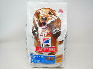 Hill's Science Diet Dry Dog Food, Adult, Oral Care, Chicken, Rice & Barley