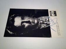 Original Autograph Fritz Wunderlich (1930-1966) Signiert Autogrammkarte 2