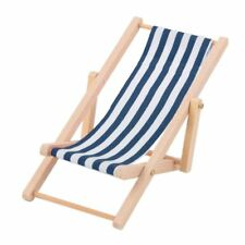Muñecas tumbona para tomar el sol tumbona de playa silla relax tumbona muebles casa de muñecas, nº 1302