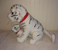 """Greatest Show On Earth Bengal Tiger & Baby Cub Plush Ringling Bros 13"""" Stuffed"""
