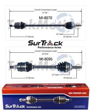 For Mitsubishi Eclipse Eagle FWD Turbo Pair Front CV Axle Shafts SurTrack Set