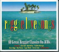 Reggae Love Songs - 60 Great Reggae Classics On 3CDs NEW/SEALED