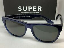 RetroSuperFuture 5F1 Dark Blue Classic Frame Sunglasses NIB