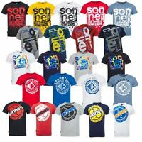 New Sonneti Mens Cotton Designer casual T-Shirt top  S - XXL  various designs