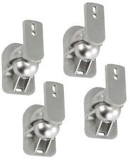 4x Lautsprecher Wandhalterung A25 Silber für TEUFEL IMPAQ 3000 Boxen Halter