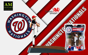 IMPORTS DRAGON MLB - WASHINGTON NATIONALS - MAX SCHERZER - FIGUR NEU/OVP
